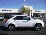 2010 Summit White Chevrolet Equinox LTZ #23393116