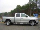 2004 Bright Silver Metallic Dodge Ram 1500 SLT Quad Cab #23379700