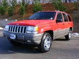 1997 Jeep Grand Cherokee Flame Red