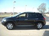 2009 Super Black Nissan Murano S #23399604