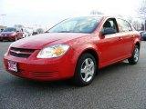 2007 Victory Red Chevrolet Cobalt LS Sedan #23385268