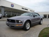 2007 Tungsten Grey Metallic Ford Mustang V6 Deluxe Convertible #23381856