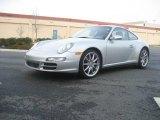 2007 Arctic Silver Metallic Porsche 911 Carrera 4S Coupe #23395009