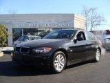 2007 Jet Black BMW 3 Series 328xi Sedan #2335536