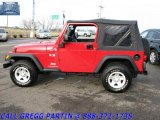 2006 Flame Red Jeep Wrangler X 4x4 #23376021