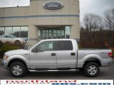 2010 Ingot Silver Metallic Ford F150 XLT SuperCrew 4x4 #23378203