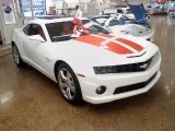 2010 Summit White Chevrolet Camaro SS/RS Coupe #23376036