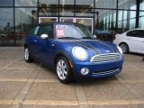 2007 Lightning Blue Metallic Mini Cooper Hardtop #23386117