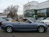 2004 Steel Blue Metallic BMW 3 Series 330i Convertible #23442657