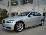2009 Titanium Silver Metallic BMW 3 Series 328xi Coupe #23441712
