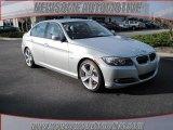 2009 Titanium Silver Metallic BMW 3 Series 335i Sedan #23462045