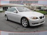 2009 Titanium Silver Metallic BMW 3 Series 335i Convertible #23462055
