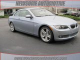 2009 Blue Water Metallic BMW 3 Series 335i Convertible #23462058