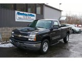 2005 Dark Gray Metallic Chevrolet Silverado 1500 LS Regular Cab 4x4 #23450370