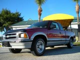 1996 Chevrolet S10 Medium Red Metallic