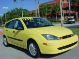 2003 Screaming Yellow Ford Focus ZX5 Hatchback #23445041