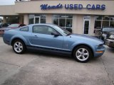 2007 Windveil Blue Metallic Ford Mustang V6 Deluxe Coupe #23452912