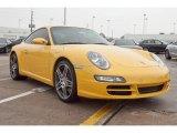 2007 Speed Yellow Porsche 911 Carrera S Coupe #23452330