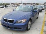 2007 Montego Blue Metallic BMW 3 Series 328i Sedan #23455081