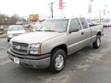 2003 Light Pewter Metallic Chevrolet Silverado 1500 LT Extended Cab 4x4 #23460783