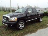2006 Brilliant Black Crystal Pearl Dodge Ram 1500 Laramie Quad Cab #23461885