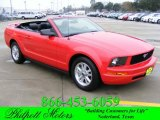 2006 Torch Red Ford Mustang V6 Premium Convertible #23451345