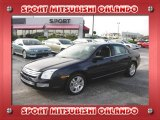 2008 Dark Blue Ink Metallic Ford Fusion SEL V6 #23462312