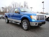 2010 Blue Flame Metallic Ford F150 XLT SuperCrew 4x4 #23448767