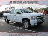 2009 Summit White Chevrolet Silverado 1500 LT Z71 Crew Cab 4x4 #23533345