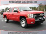 2010 Victory Red Chevrolet Silverado 1500 LT Crew Cab #23533402