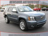 2010 Blue Granite Metallic Chevrolet Tahoe LTZ #23533409