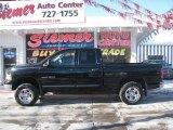 2002 Black Dodge Ram 1500 SLT Quad Cab 4x4 #23523796