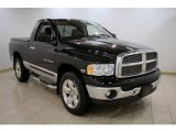 2004 Black Dodge Ram 1500 ST Regular Cab 4x4 #23531116