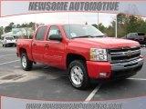 2010 Victory Red Chevrolet Silverado 1500 LT Crew Cab 4x4 #23533403