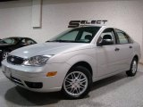 2005 CD Silver Metallic Ford Focus ZX4 SE Sedan #2349245