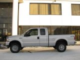 2002 Silver Metallic Ford F250 Super Duty XLT SuperCab 4x4 #23528260