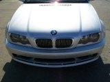 2003 Titanium Silver Metallic BMW 3 Series 325i Coupe #23564102