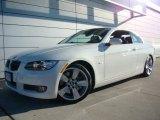 2007 Alpine White BMW 3 Series 335i Convertible #23559691