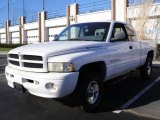1999 Bright White Dodge Ram 1500 Sport Extended Cab 4x4 #23573865