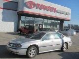 2001 Galaxy Silver Metallic Chevrolet Impala LS #23565224