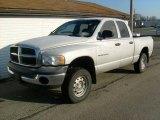 2004 Bright Silver Metallic Dodge Ram 1500 ST Quad Cab 4x4 #23568512