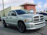 2004 Bright Silver Metallic Dodge Ram 1500 Laramie Quad Cab #23525929