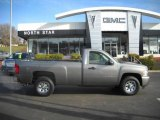 2007 Graystone Metallic Chevrolet Silverado 1500 LS Regular Cab 4x4 #23567566