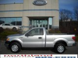 2010 Ingot Silver Metallic Ford F150 XL Regular Cab #23559303