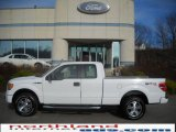 2010 Oxford White Ford F150 STX SuperCab 4x4 #23559301
