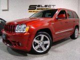 2006 Inferno Red Crystal Pearl Jeep Grand Cherokee SRT8 #2349242