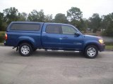 2005 Spectra Blue Mica Toyota Tundra Limited Double Cab #23572147