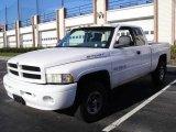 2001 Bright White Dodge Ram 1500 Sport Club Cab 4x4 #23573867