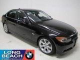 2007 Jet Black BMW 3 Series 335i Sedan #23570344