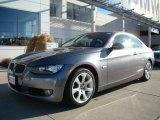 2007 Space Gray Metallic BMW 3 Series 328xi Coupe #23559657